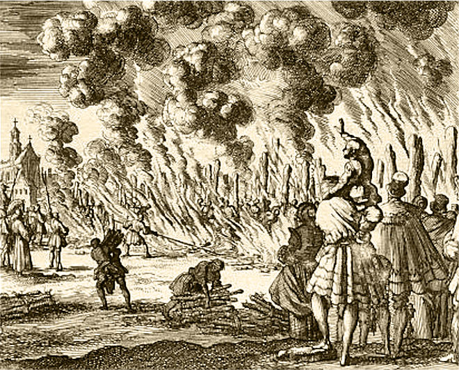 Burning of the Waldensians